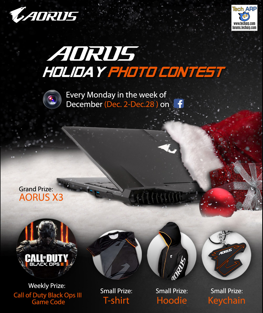 AORUS Holiday Photo Contest | Tech ARP Forums